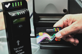 OTI EMV and NDoT certified smart card reader for fare management